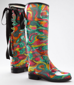 Funky Rain Boots - Cr Boot