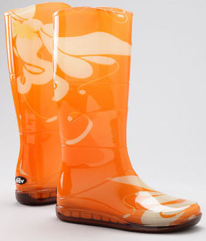 Zulily: Women's Funky Rain Boots As Low As $18.99