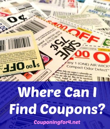 Where can i find free coupons