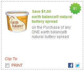 photograph relating to Natural Balance Printable Coupons named $1 World Harmony Organic and natural Buttery Distribute Printable Coupon