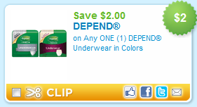 picture regarding Depends Printable Coupons known as Fresh new $2 Rely Printable Discount codes And CVS Package deal Couponing For 4