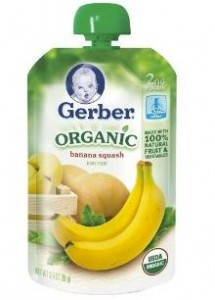 Gerber Organic Baby Pouches Coupons