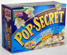 Pop-Secret Popcorn Coupons