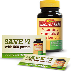 Nature Made Wellness Points