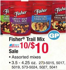 Fisher Nut Deals