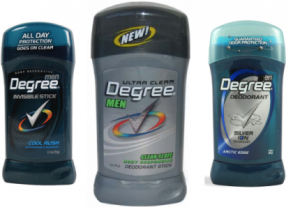 Degree Deodorant Coupons