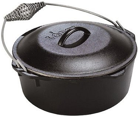 Lodge Logic Pre Seasoned 5 Quart Dutch Oven Only 29 Shipped