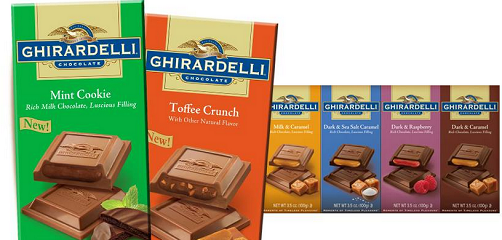 graphic about Ghirardelli Printable Coupon named $1 Ghirardelli Chocolate Bar Printable Coupon Additionally CVS Package deal
