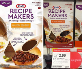 Kraft Recipe Makers Coupons