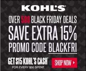 Kohl's Black Friday