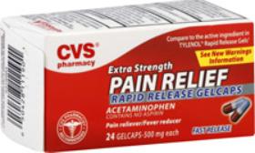 CVS Acetaminophen Deals