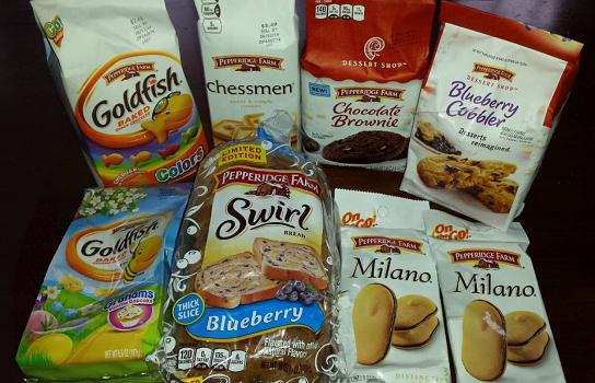 Pepperidge Farm Summer Snacks & Sweets Review