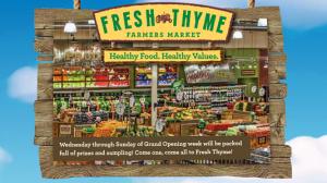 Fresh Thyme Deals