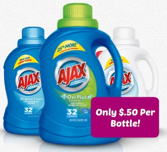 Ajax Laundry Detergent Coupons