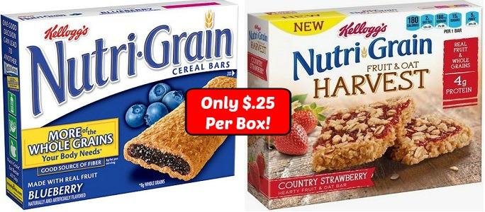 Nutri-Grain Coupons