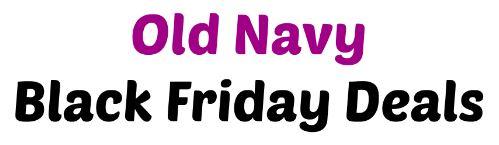 Old Navy Black Friday Deals 2014