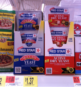 New Red Star Yeast Coupon Means Only 68 At Walmart Couponing For 4