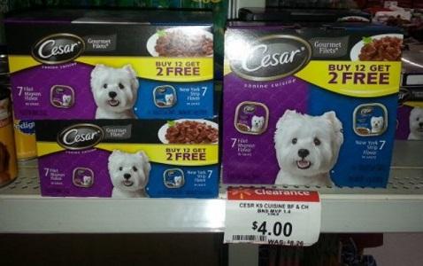 coupons for dog food walmart