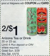 Walgreens In-Ad Coupons
