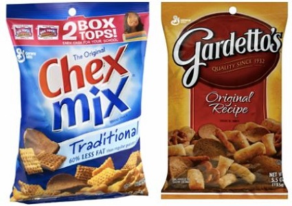 Chex Mix And Gardetto