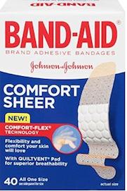 Band-Aid Comfort Sheer