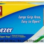 Glad Freezer Bags Only $.50 At Dollar General!