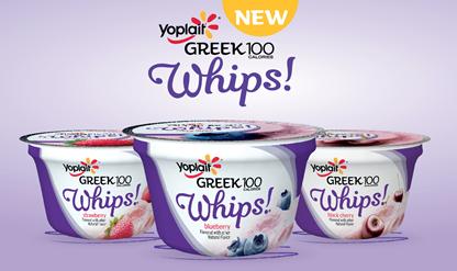 Yoplait Greek Whips Yogurt