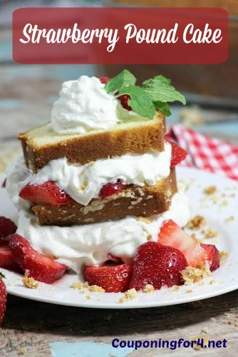 Strawberry Pound Cake Dessert Recipe