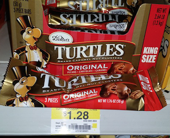 Turtles Candy Bars