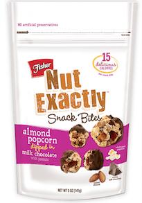 Fisher Nut Exactly Snack Bites