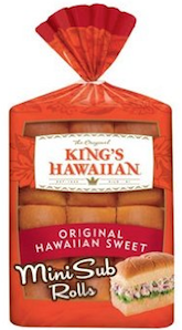 King's Hawaiian Mini Sub Rolls