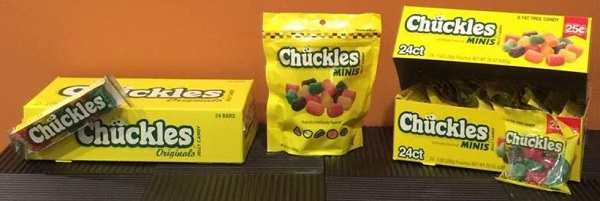 Chuckles Candy Review