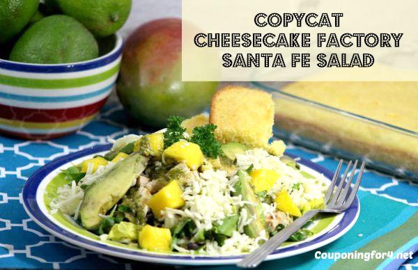 Copycat Cheesecake Factory Santa Fe Salad Recipe