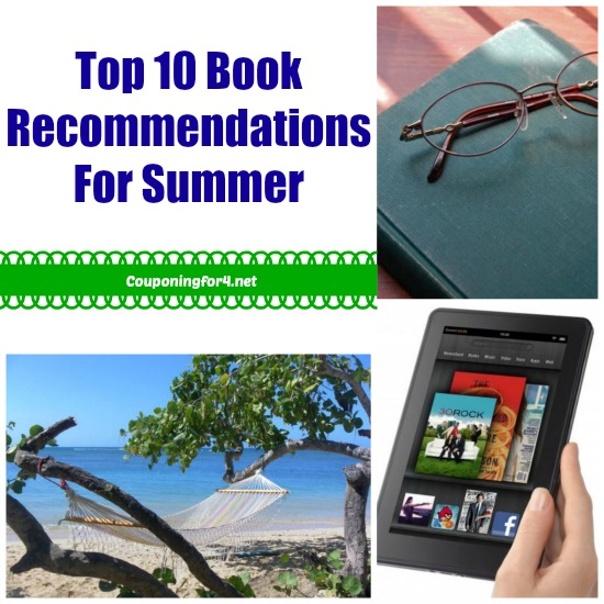 Top 10 Book Recommendations For Summer