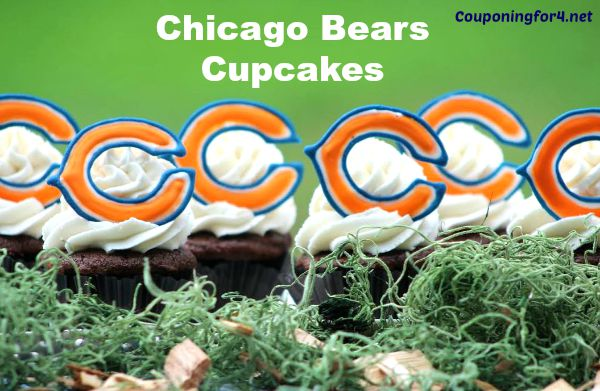 Chicago Bears Cupcakes Recipe3
