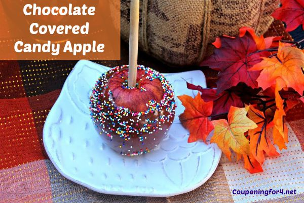 Chocolate Covered Candy Apple Recipe