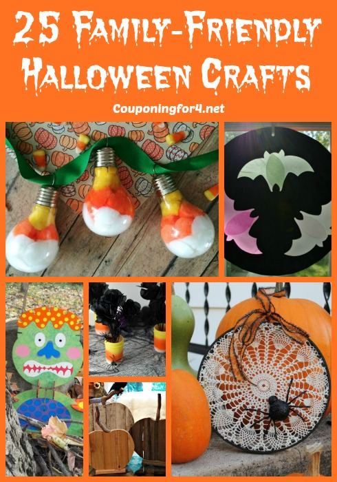 25 Family-Friendly Halloween Crafts