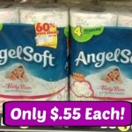 Angel Soft Bath Tissue 4-Pack Only $.55 At Dollar General With New Coupon!