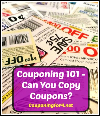 Can You Copy Coupons