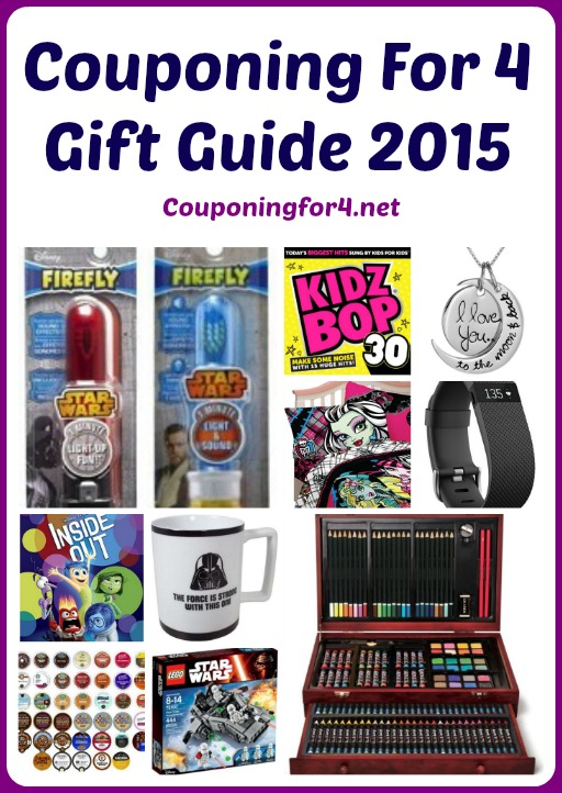 Couponing For 4 Gift Guide 2015