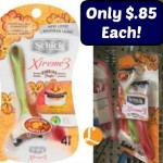 Schick Disposable Razors Only $.85 Per Pack At Dollar General!