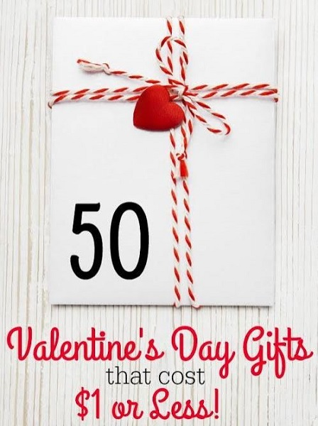 50 Valentine's Day Gifts That Cost $1 Or Less