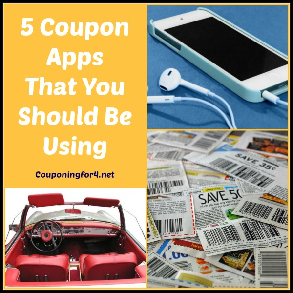5 Coupon Apps