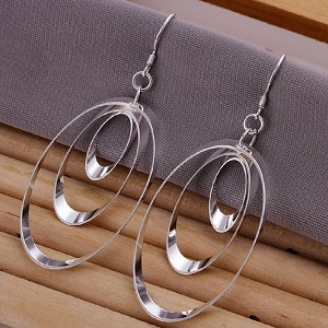 Oval Fashion Earrings