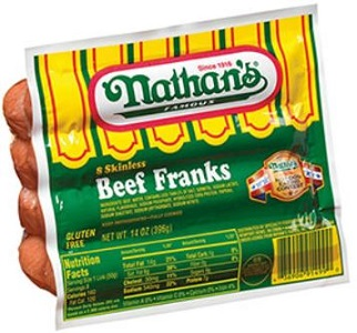 Nathan's Famous Beef Franks Coupon