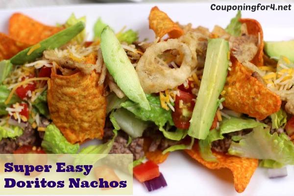 Super Easy Doritos Nachos Recipe