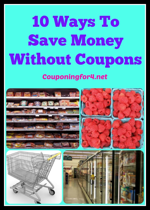 10 Ways To Save Money Without Using Coupons