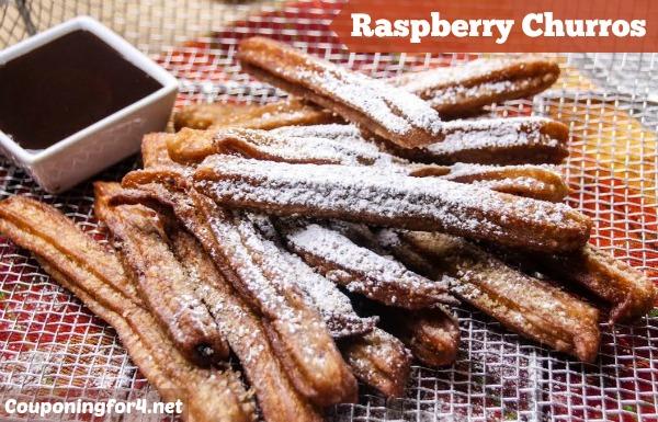 Raspberry Churros Recipe