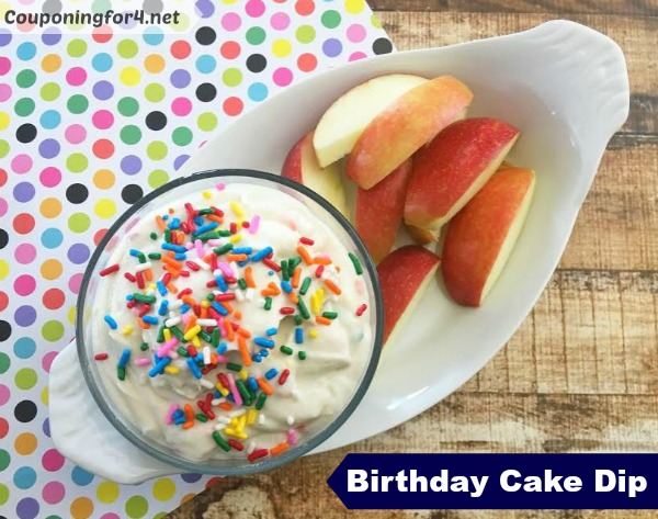 Birthday Cake Dip Recipe