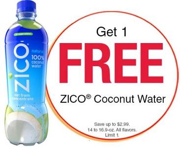 Zico Coconut Water Coupons